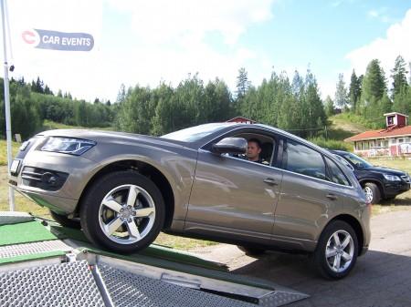 Även Audi Q5 användes på Terrängtrailern.