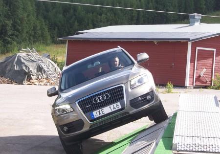 Avslutningsvis en fin studie i sidolutningen med Audi Q 5