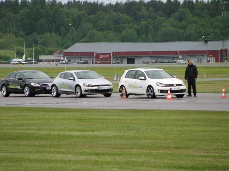 Passat CC, Scirocco och Golf GTI i väntan på starttillsånd