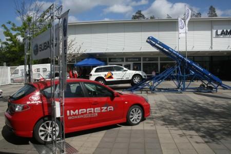 Subarus nyligen lancerade Impreza Diesel.