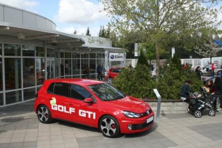 Ikonen Golf GTI smygvisades på MotorTown Öppet Hus.